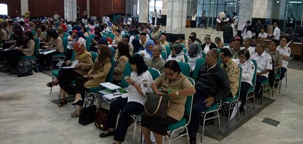 Sosialisasi Pensiun Aparatur Sipil Negara di Walikota Jakarta Timur