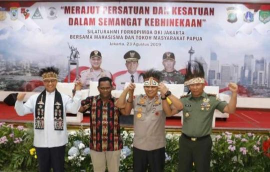 Kapolda Metro Jaya Minta Pemuda dan Tokoh Papua Tidak Terprovokasi