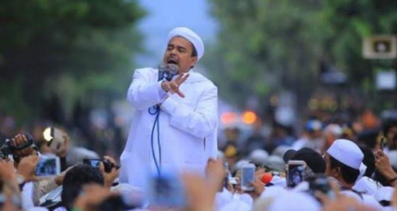 Habib Rizieq Sebut Ia dan Umat Islam Siap Tenggelamkan Rezim Durhaka