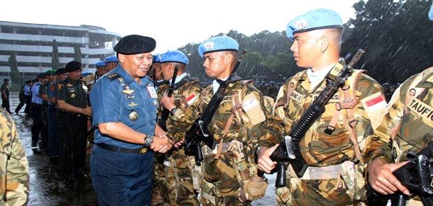 Panglima TNI: Tunjukkan Prajurit TNI Adalah Prajurit Berkelas Dunia