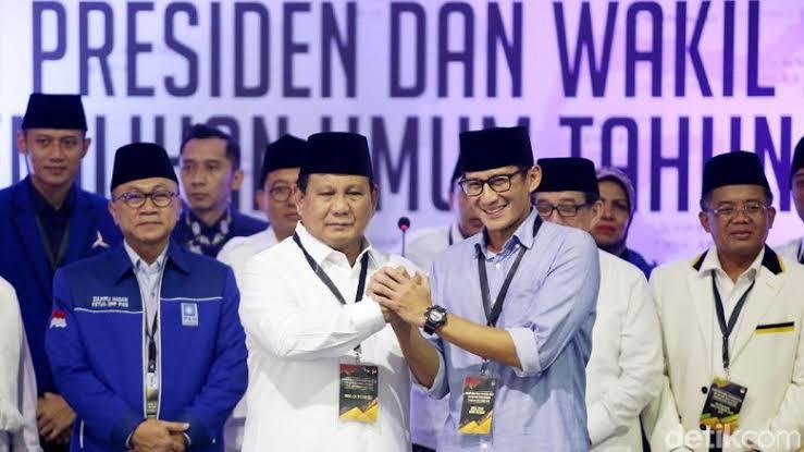 Koalisi Partai Pendukung Prabowo-Sandi Kuasai Pimpinan DPRD DKI