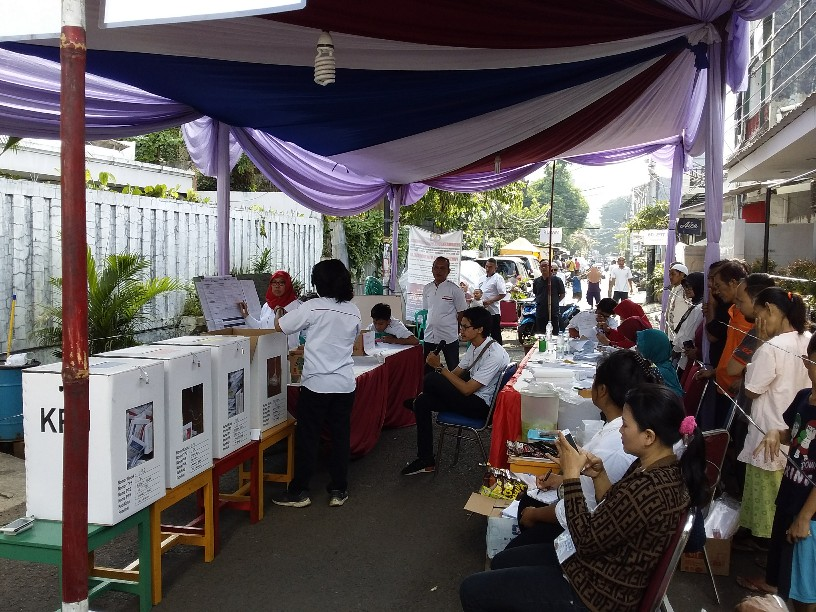 Hasil Situng Sementara KPU : Ini Lima Besar Suara Partai di Wilayah DKI