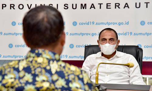 Edy Rahmayadi Diskusi dengan Mantan Atlet Berprestasi Tentang PON 2024