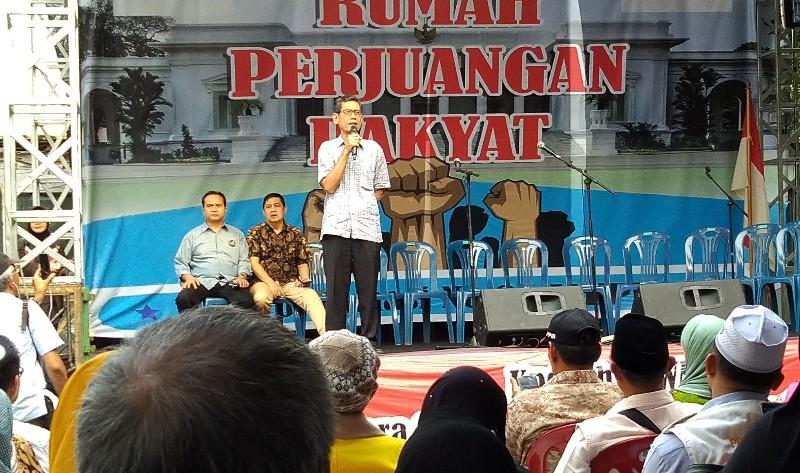 Pendukung 02 Deklarasikan Gerakan Nasional Kedaulatan Rakyat
