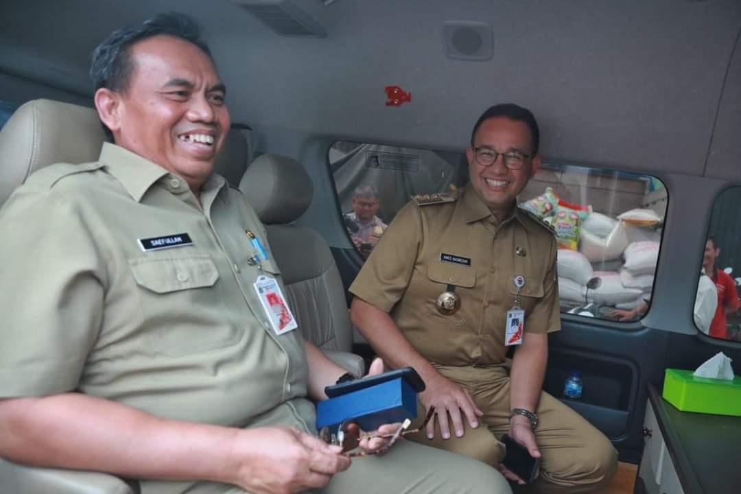 Guru Teladan Bertahan Di Puncak Karir Selama Empat Periode Gubernur, Mendiang Saefullah Layak Dapat MURI