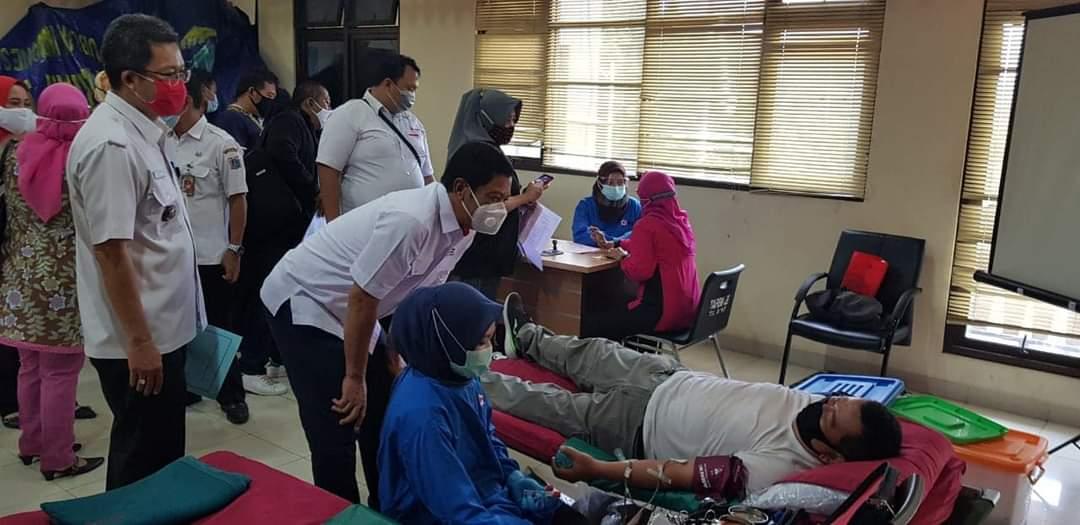 Patut Ditiru! Korpolairud Donor Ribuan Kantong Darah