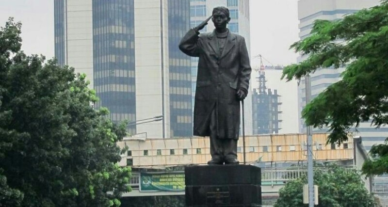 Astaga! Patung Jenderal Sudirman Belum Diserahkan ke Pemprov DKI