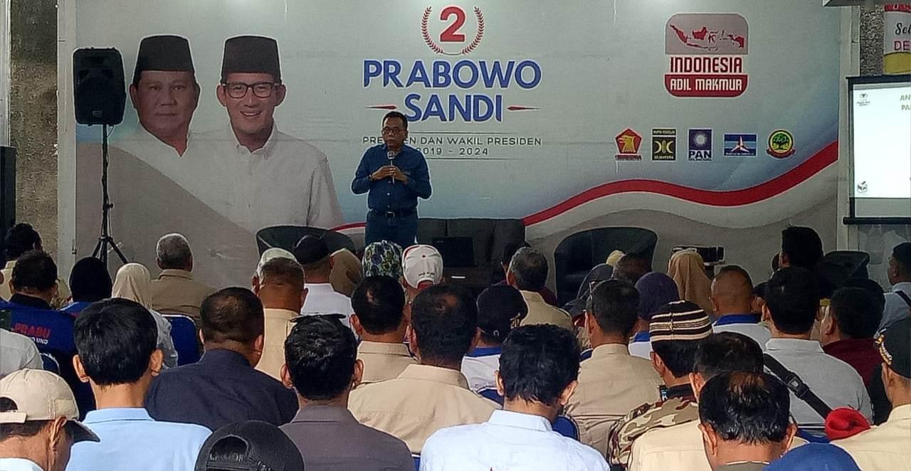 AntipasiKecurangan Pemilu Seknas Prabowo-Sandi Latih Laksar Jaga TPS