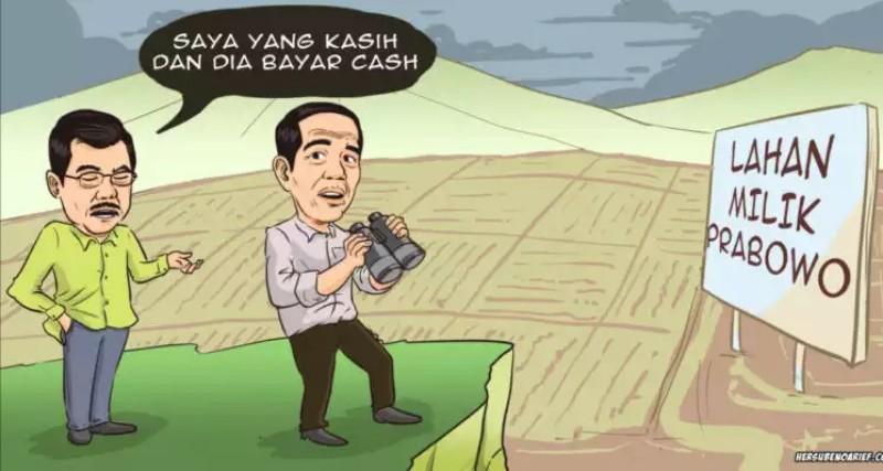 Prabowo Bukan Lagi Lawan Jokowi