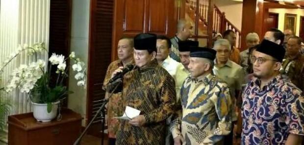 Terkait Kasus Ratna Sarumpaet, Prabowo Akan Temui Kapolri