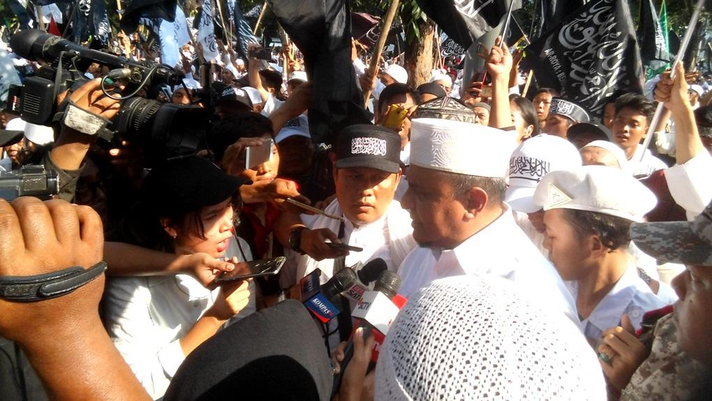 Wiranto 'Ngabur' ke Palu, GNPF-Ulama Ancam Gelar Aksi Bela Tauhid II
