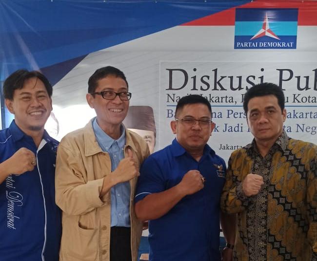 Hadiri Diskusi Demokrat, Begini Penilaian Dua Calon Pendamping Anies Soal Jakarta