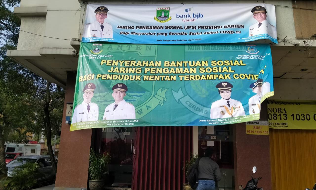 Ini Mekanisme Penerima Bantuan Covid-19 dari Provinsi Banten