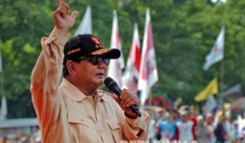 Kampanye di Ciamis, Prabowo Instruksikan Jaga TPS