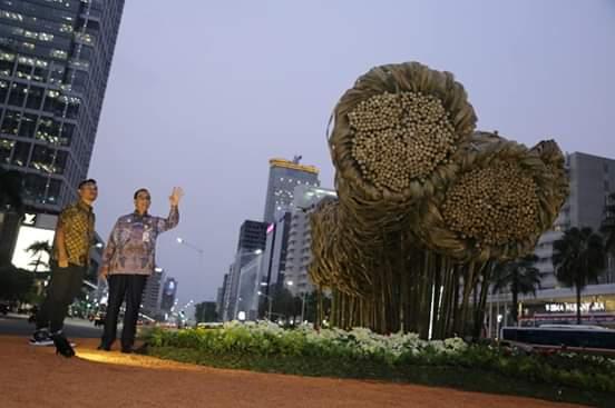 Begini Penjelasan Anies Soal Bambu Getah Getih Yang Sudah Dibongkar