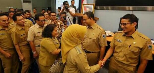 Terkait Mutasi Pejabat, SGY Ingatkan Anies-Sandi Jangan Simpan Bom Waktu