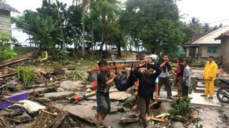 Ini Analisa Pakar Asing Soal Penyebab Tsunami di Selat Sunda
