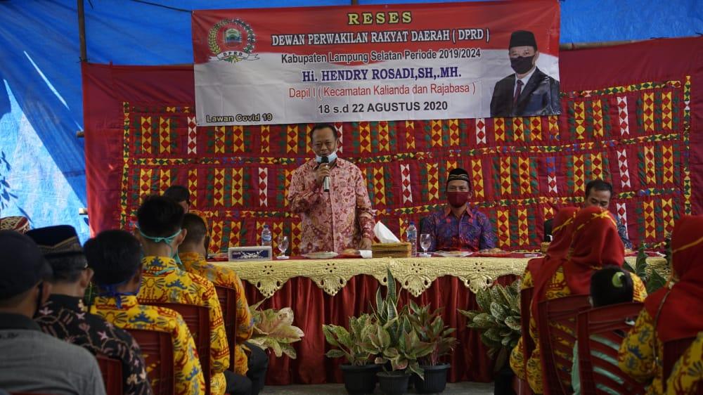 Ketua DPRD Lamsel Prioritaskan Rumah Layak Huni Untuk Warga Kalianda