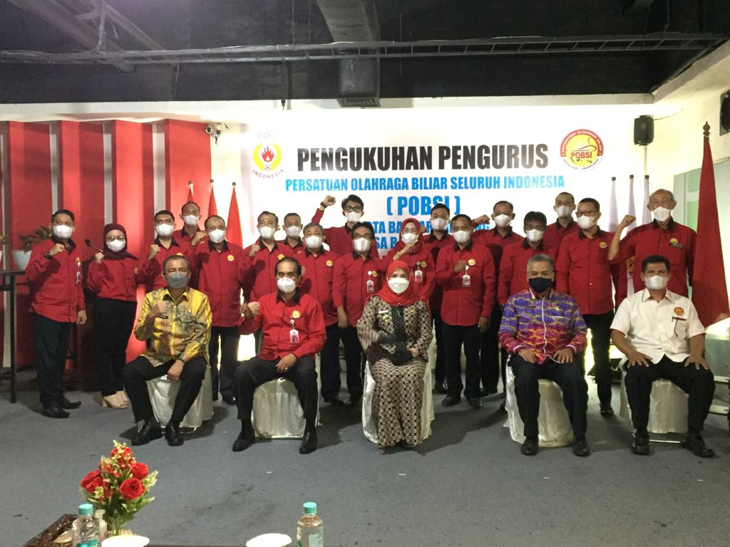 Pemerintah Kota Bandarlampung Mengkukuhkan Pengurus POBSI Dan Siap Cetak Bibit Unggul