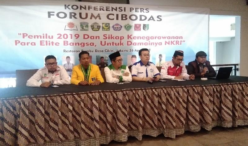 Forum Cibodas Klaim Akan Lawan Gerakan yang Ingin Delegitimasi KPU