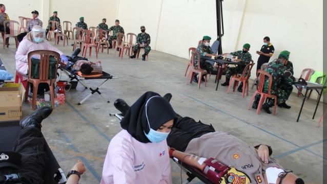 AKBP Binsar Manurung Donor Darah Semoga Bermanfaat dan Menyelamatkan Pasien