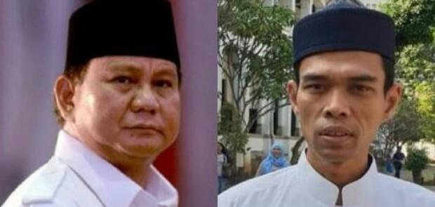 Potensi Menang Bisa 99 Persen, Prabowo Disarankan Bujuk Ustad Abdul Somad