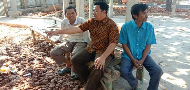 Revitalisasi Taman Arsa Tak Kunjung Rampung, Perekonomian Masyarakat Mati Suri