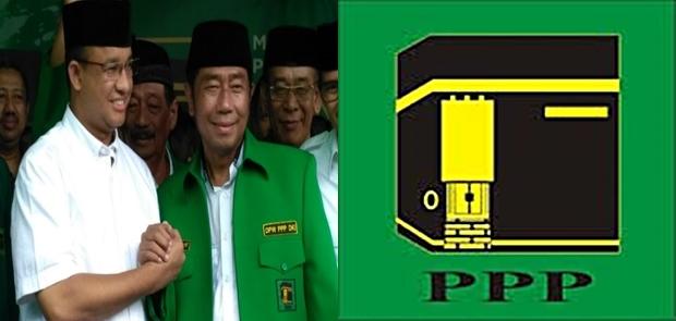 Haji Lulung Pasang Spanduk Selamatkan Partai Persatuan Pembangunan