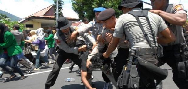 Hasil Riset 8 dari 10 Orang Yang Diperiksa Polisi Alami Kekerasan Fisik