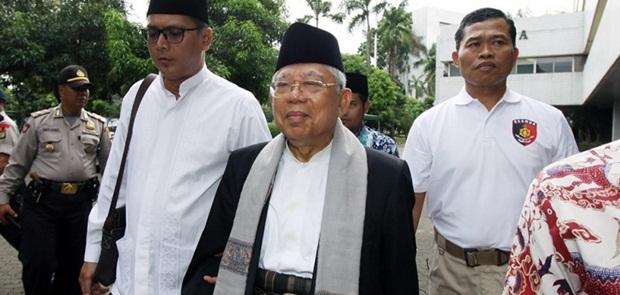 KH Ma'ruf Amin Akhirnya Mundur dari Jabatan Ketum MUI