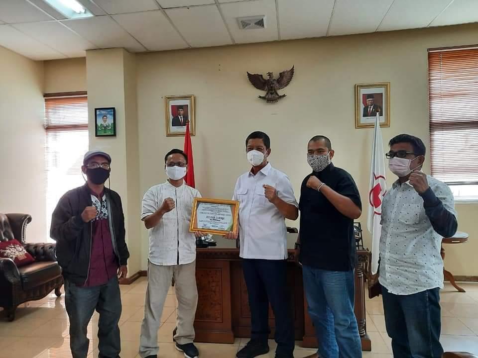 Ketua PMI DKI Raih Jakarta Youth Award 2020