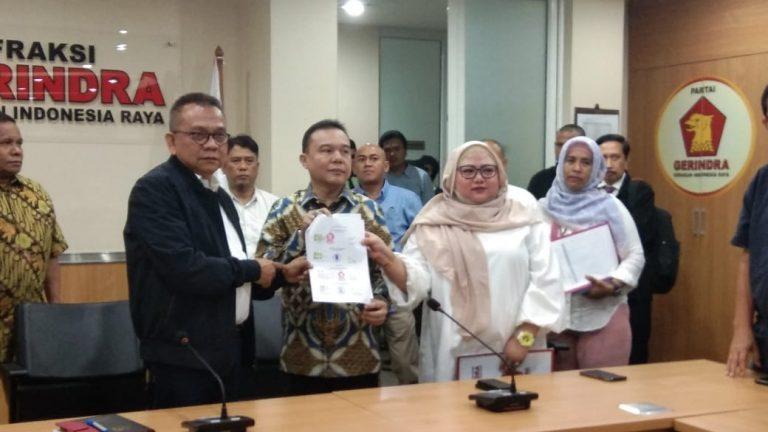 Gerindra Resmi Umumkan Riza Patria dan Nurmansyah Lubis Sebagai Cawagub DKI