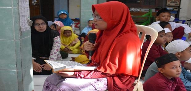 Pencetak Qori dan Qoriah Dapat Bantuan Walkot Jaktim