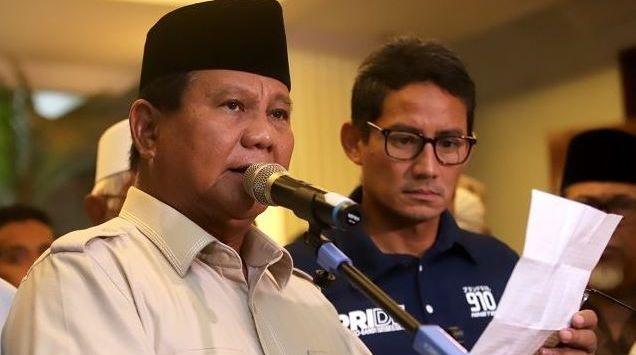 Prabowo Berangkat ke Dubai Ditemani Pemantau Pemilu Asing