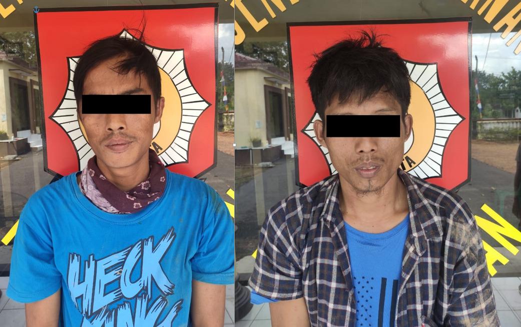 2 Orang Di Duga Pengguna Sabu Diringkus Polisi, Saat Patroli Rutin