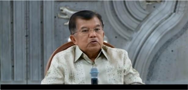 Wakil Presiden Jusuf Kalla Ungkap Pelaku Kasus BLBI