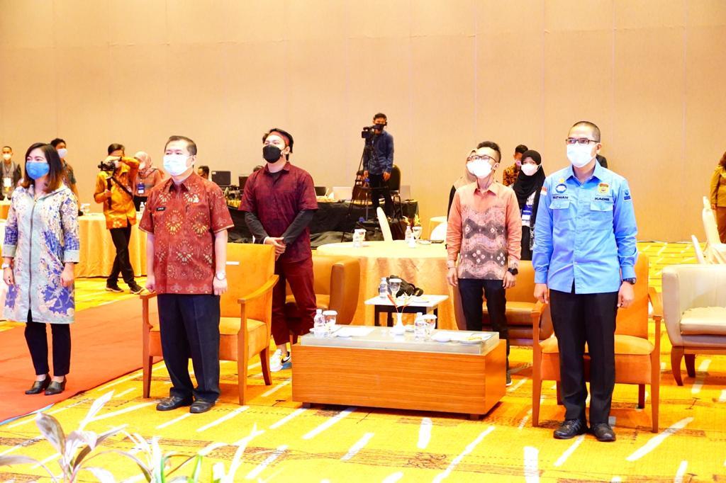 Pemprov Sumsel Ikuti Peluncuran Indonesia Makin Cakap Digital