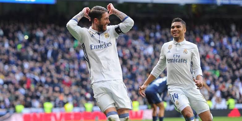 Copa Del Rey : Dua Gol Ramos Bawa Real Madrid Unggul 4-2 Atas Girona
