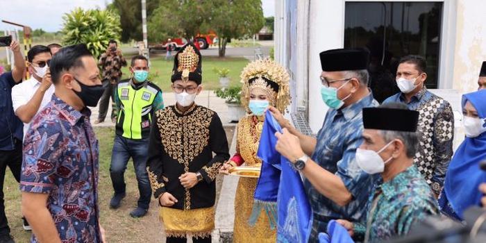 Siswa SMK Negeri 1 Bener Meriah Rehab Dua Rumah Warga Dhuafa
