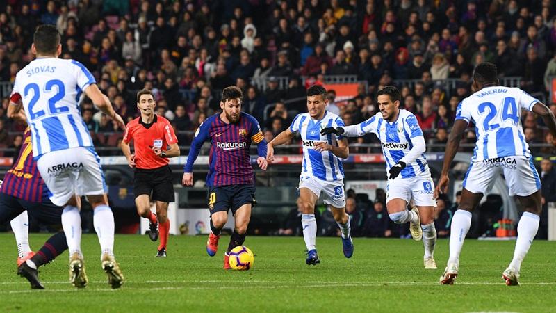 Susah Payah, Barcelona Bekap Leganes 3-1