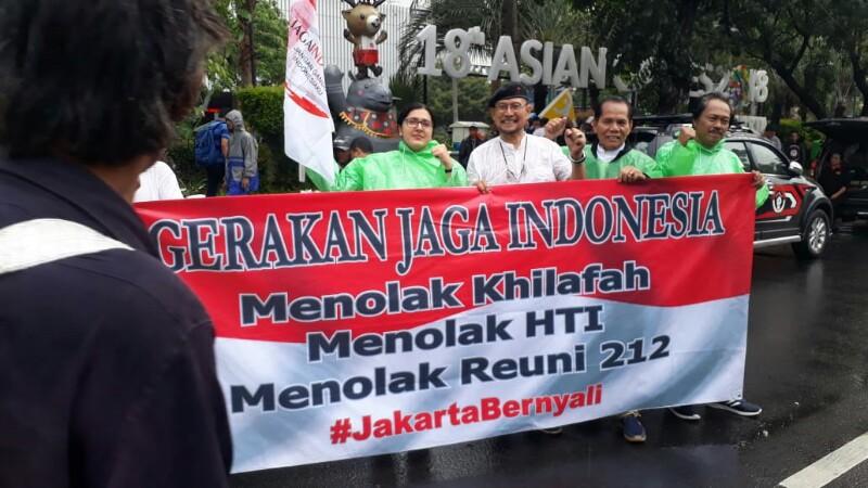Ribuan Anggota FKDM Dikerahkan Untuk Jaga Stabilitas Jakarta Saat Reuni 212