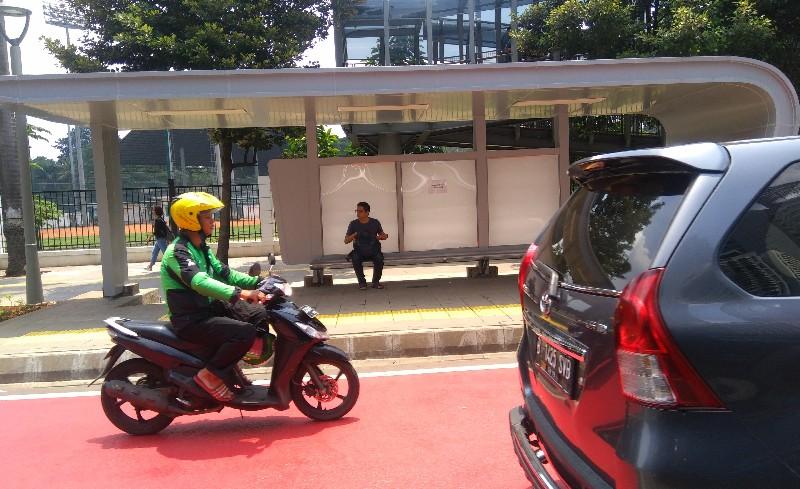 DKI Dapat Puluhan Halte dari KLB Pengembang Simpang Susun Semanggi