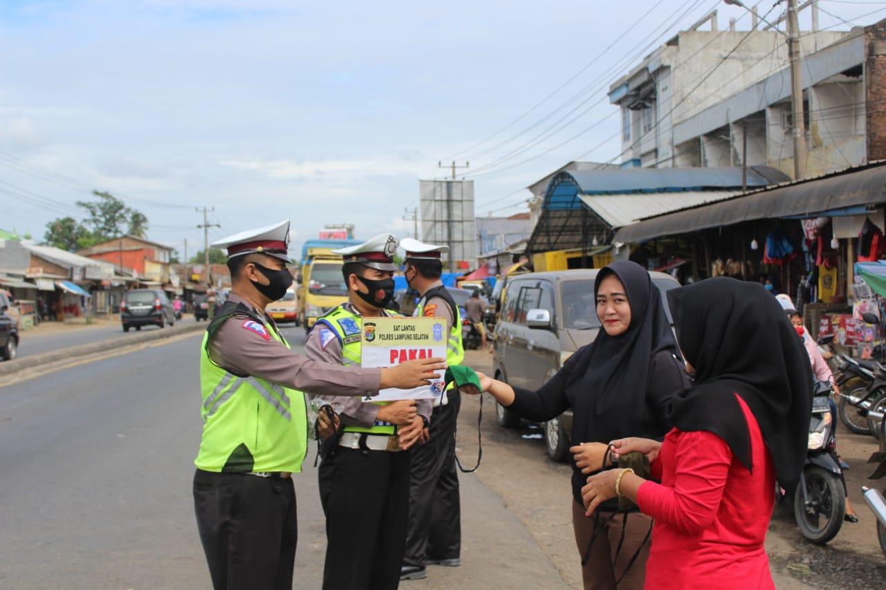Operasi Zebra Krakatau tahun 2020 Polres Lampung Selatan (Lamsel) terus berlangsung