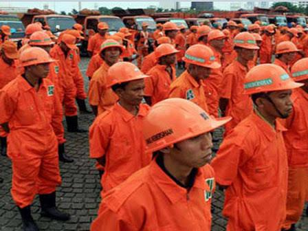 Atasi Sampah Usai Malam Tahun Baru di DKI, 7 Ribu Petugas Kebersihan Dikerahkan