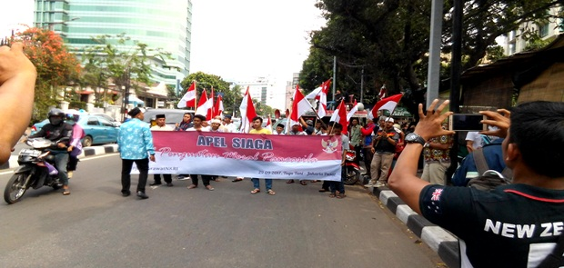 FUIB Ancam Lengserkan Jokowi Jika Lemah Terhadap Komunis