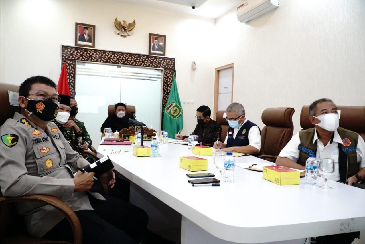 Meski Bukan  Provinsi PPKM Darurat, HD Ajak Masyarakat Sumsel Tetap Prokes dan Vaksin