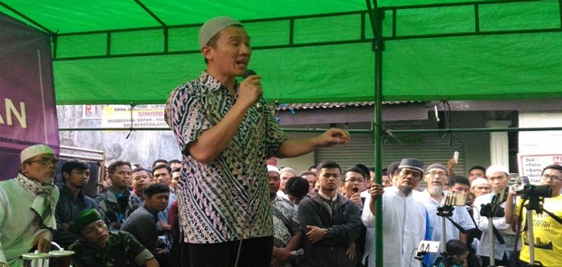 Ditolak GP Ansor, Umat Islam Kawal Tabligh Akbar Felix Siauw di Cilincing