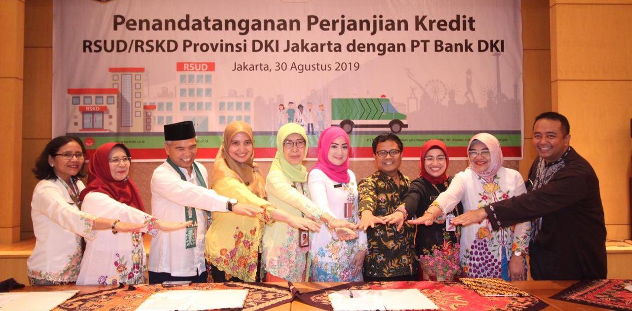 Bank DKI Siapkan Kredit Rp 93 Miliar Untuk 6 RSUD DKI
