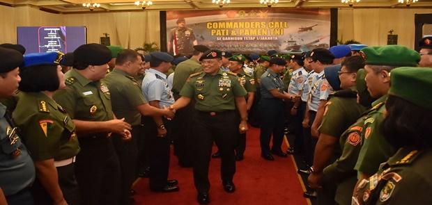 Panglima TNI: Jaga dan Pelihara Kepercayaan Rakyat kepada TNI