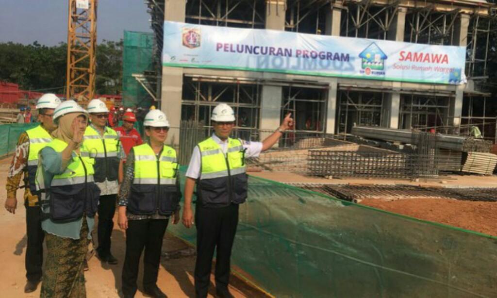 Anies Launching Samawa, Rumah DP 0 Rupiah Klapa Village